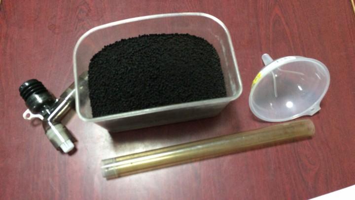 水槽にソイル投入するのに用意する物