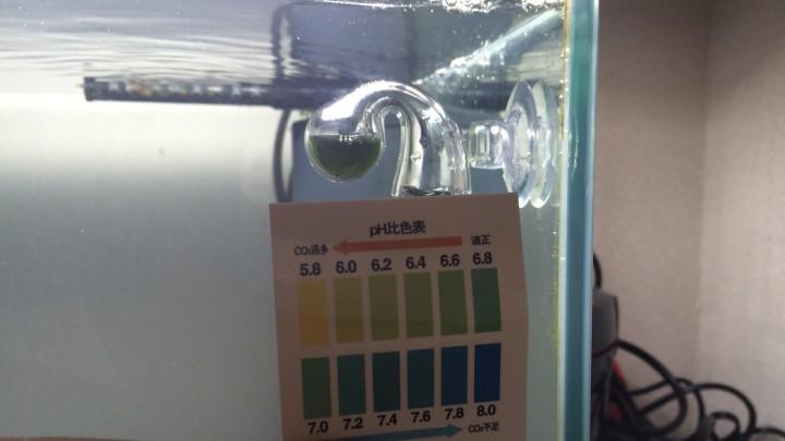 ドロップチェッカーpH比色表