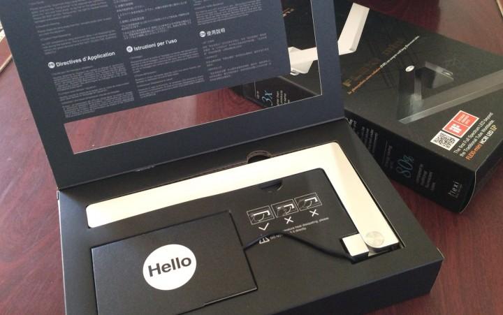 FLEXI miniのパッケージ