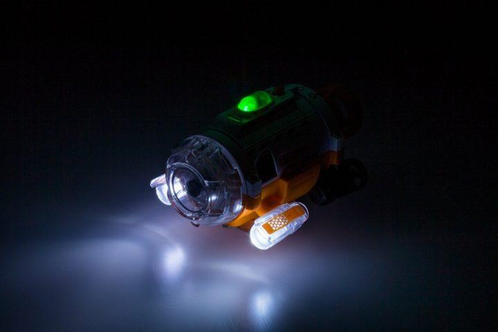 熱帯魚目線で水槽内撮影