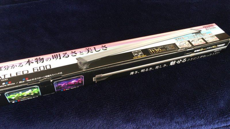 コトブキ フラットLED600 高い色温度と演色性を両立したアクアリウム用LED照明!