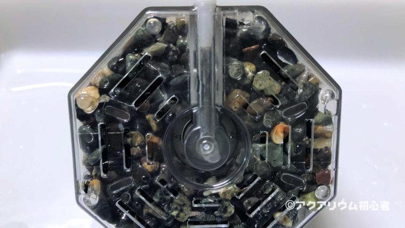 投げ込み式フィルターの底面部分